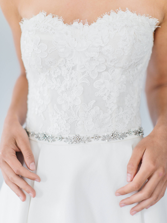 Ampersand Bridal Sausalito Belt