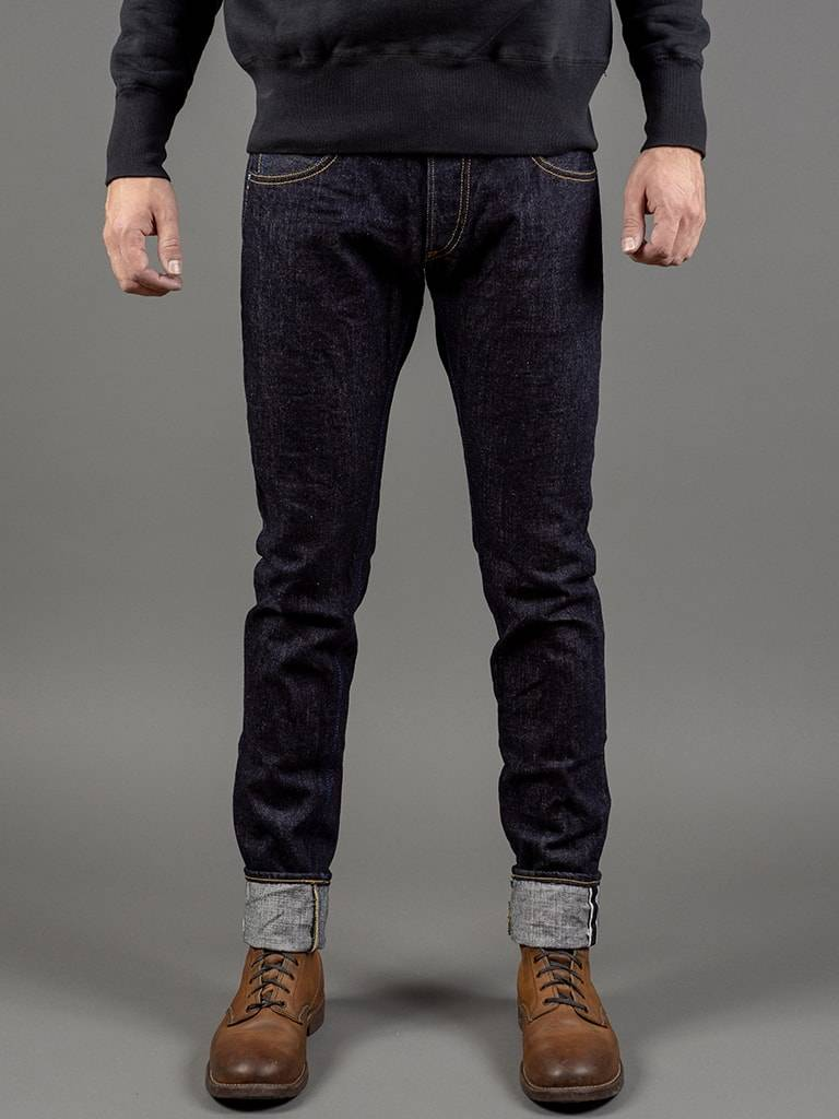 RETRO TAPERED JEANS