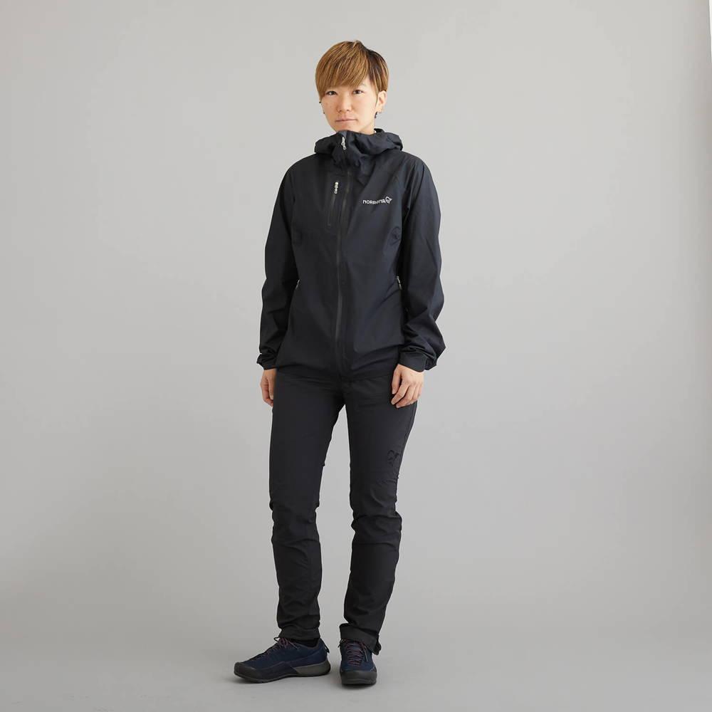 NORRONA(ノローナ)/ビティホーン ドライ1ジャケット/ブラック/WOMENS