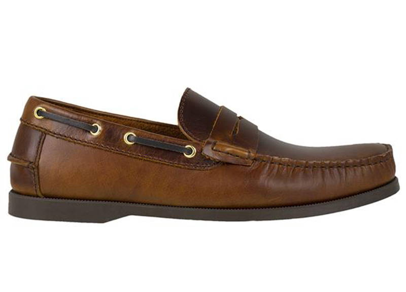 edabe359734 Tomaz C329 Leather Penny Loafers (Brown) - Tomaz Shoes