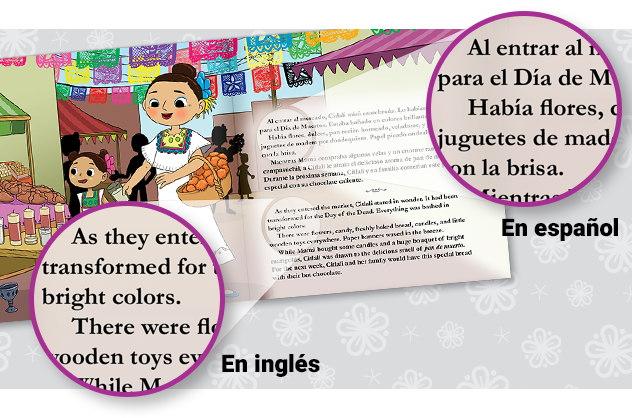Brighter Child® Keepsake Stories libro bilingüe para niños