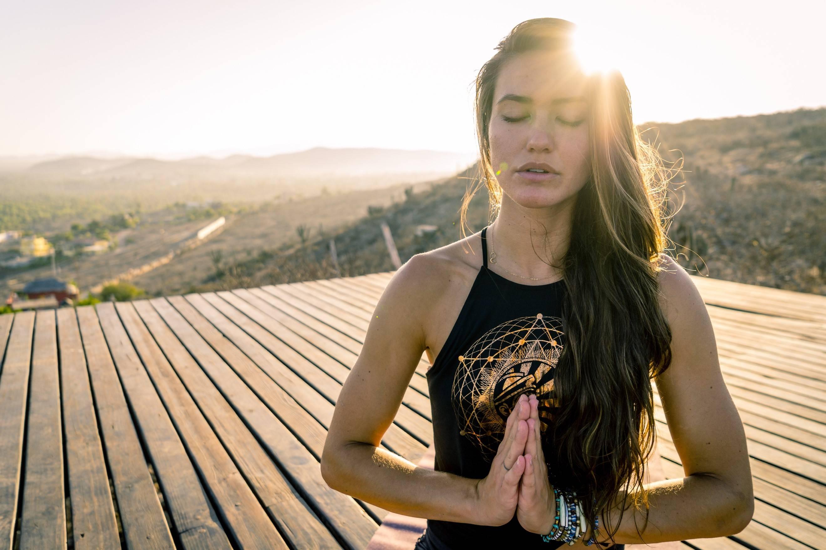 meditation-yoga-model