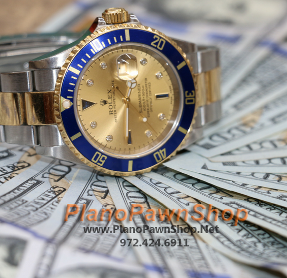 Rolex pawn shop - Plano Pawn Shop making pawn loans on watches