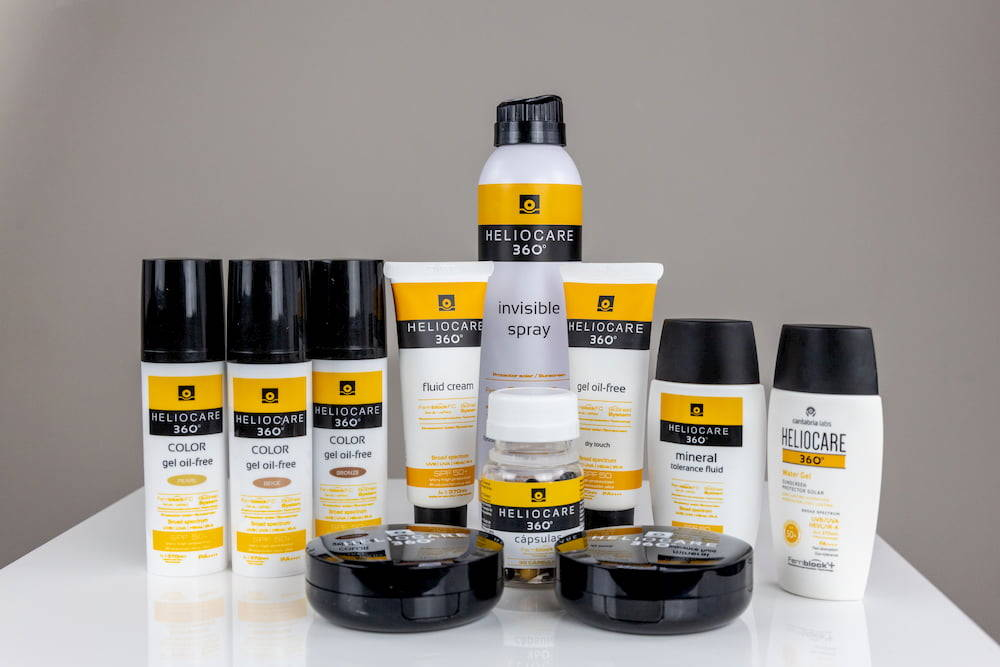 Heliocare 360 product range