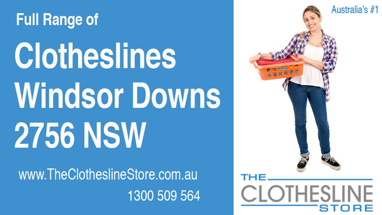 New Clotheslines in Windsor Downs 2756 NSW