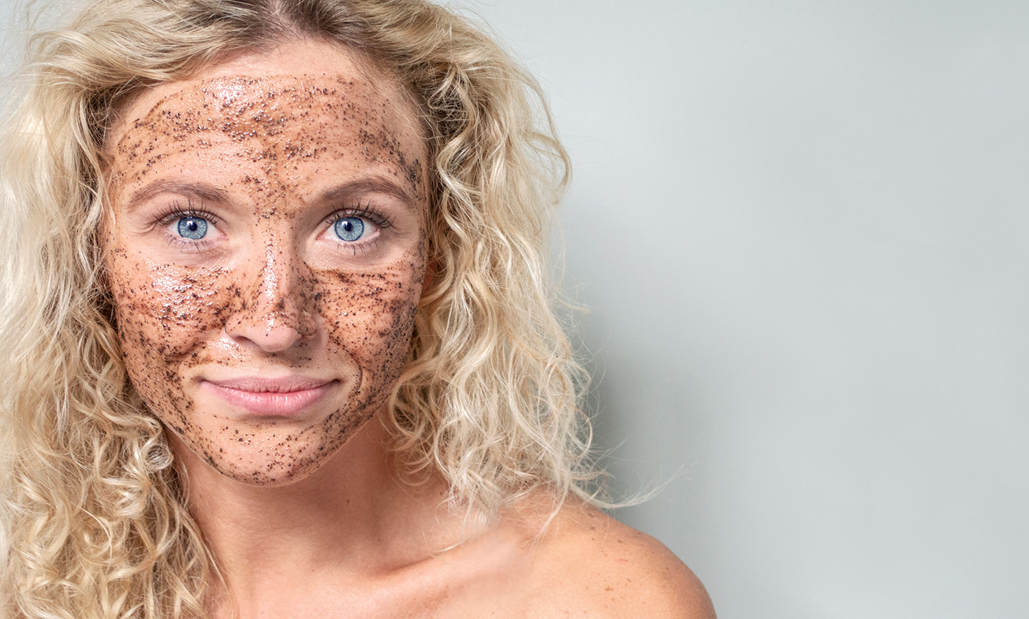 Natural coffee ground skincare