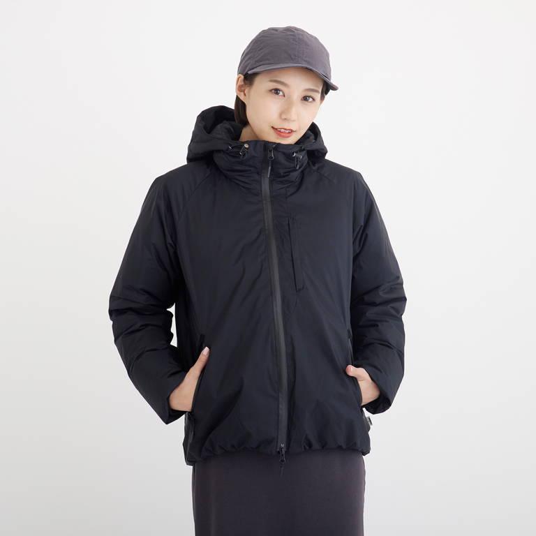 NANGA(ナンガ)/オーロラダウンジャケット/ブラック/WOMENS