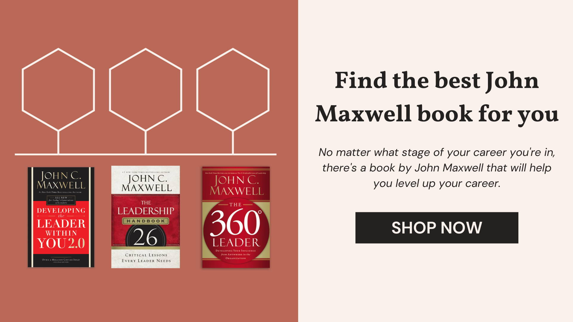 find the best John Maxwell book for you