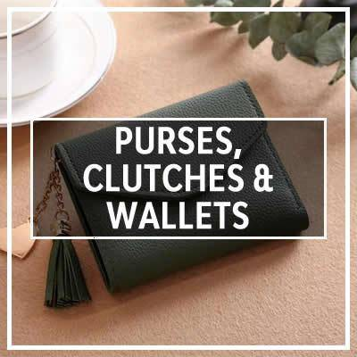 Purses, Clutches & Wallets Collection