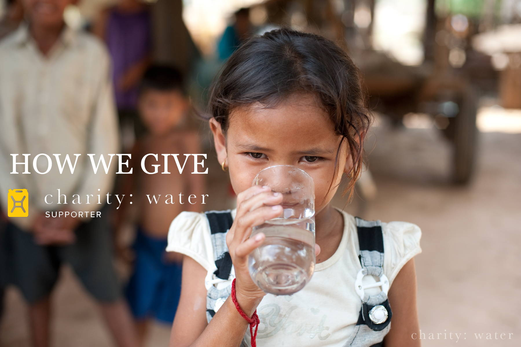 charity: water | Rock Money Outfitters Clean Water Campaign #1