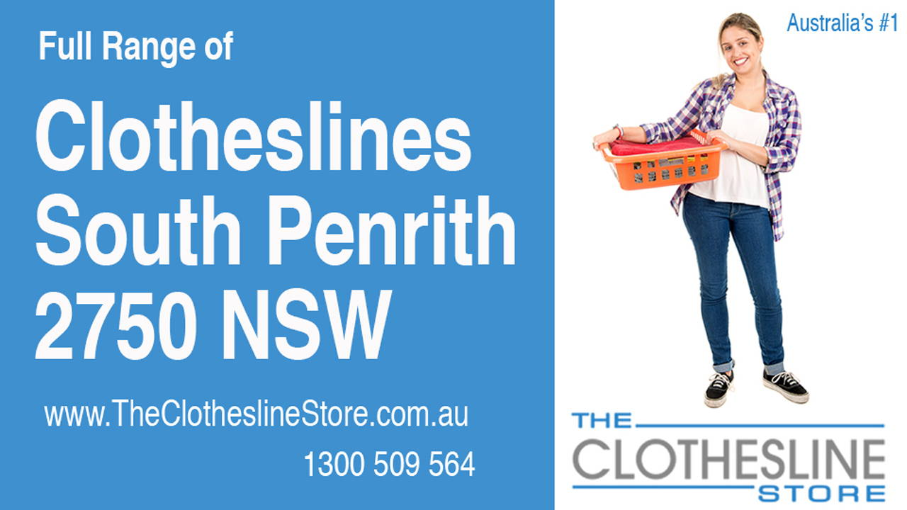 New Clotheslines in South Penrith 2750 NSW