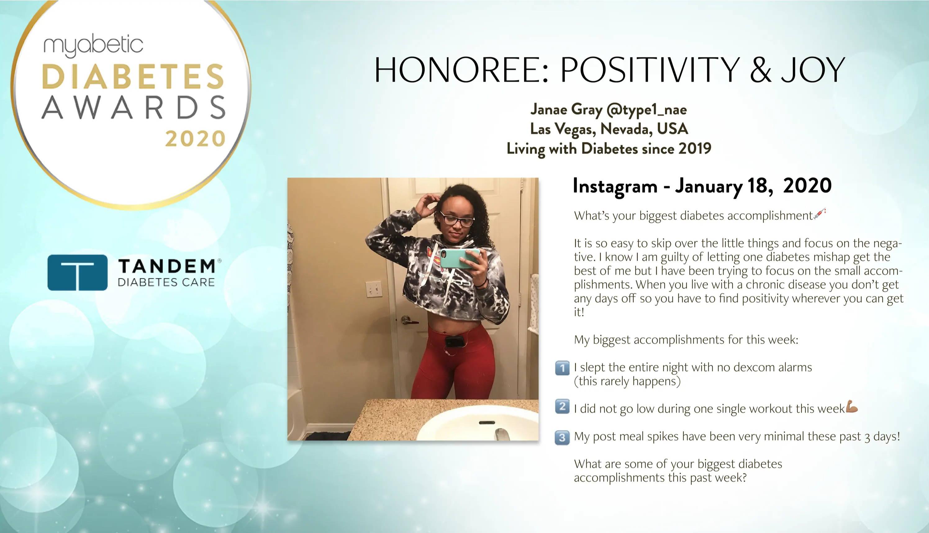 diabetes-awards-janae-gray