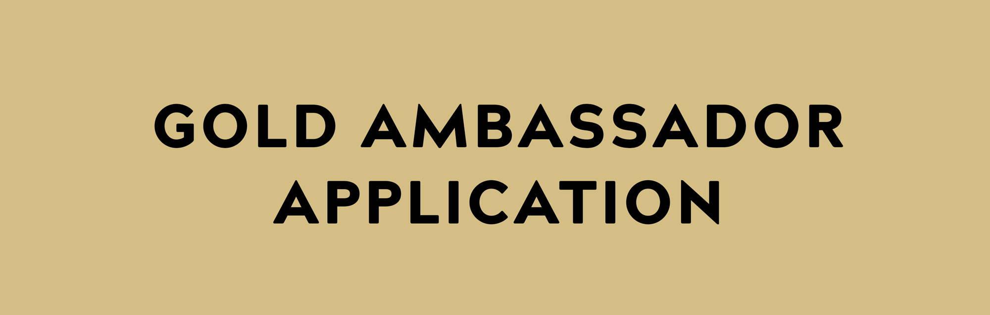 LOCTOTE gold ambassador application page