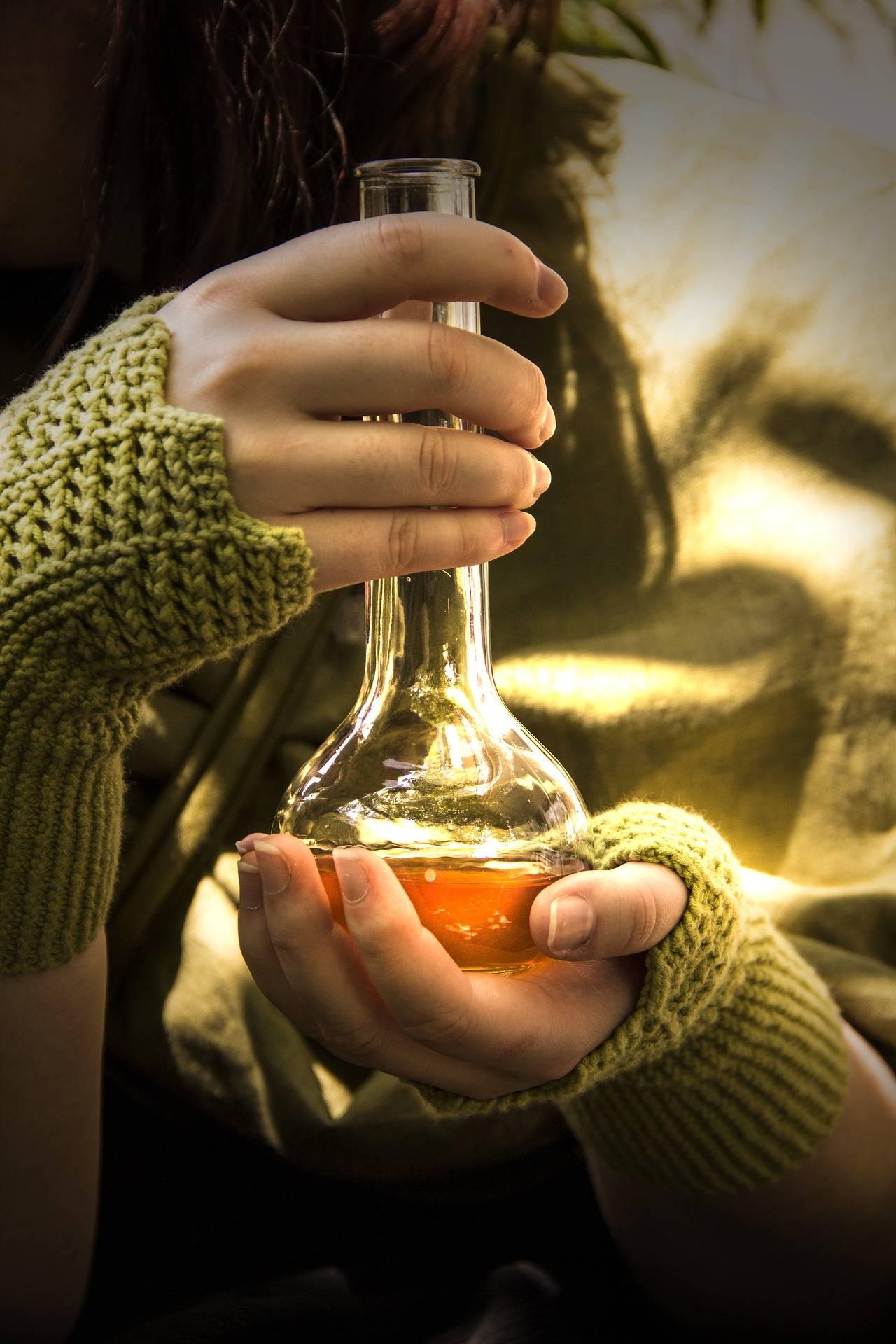 Gloves & Potion