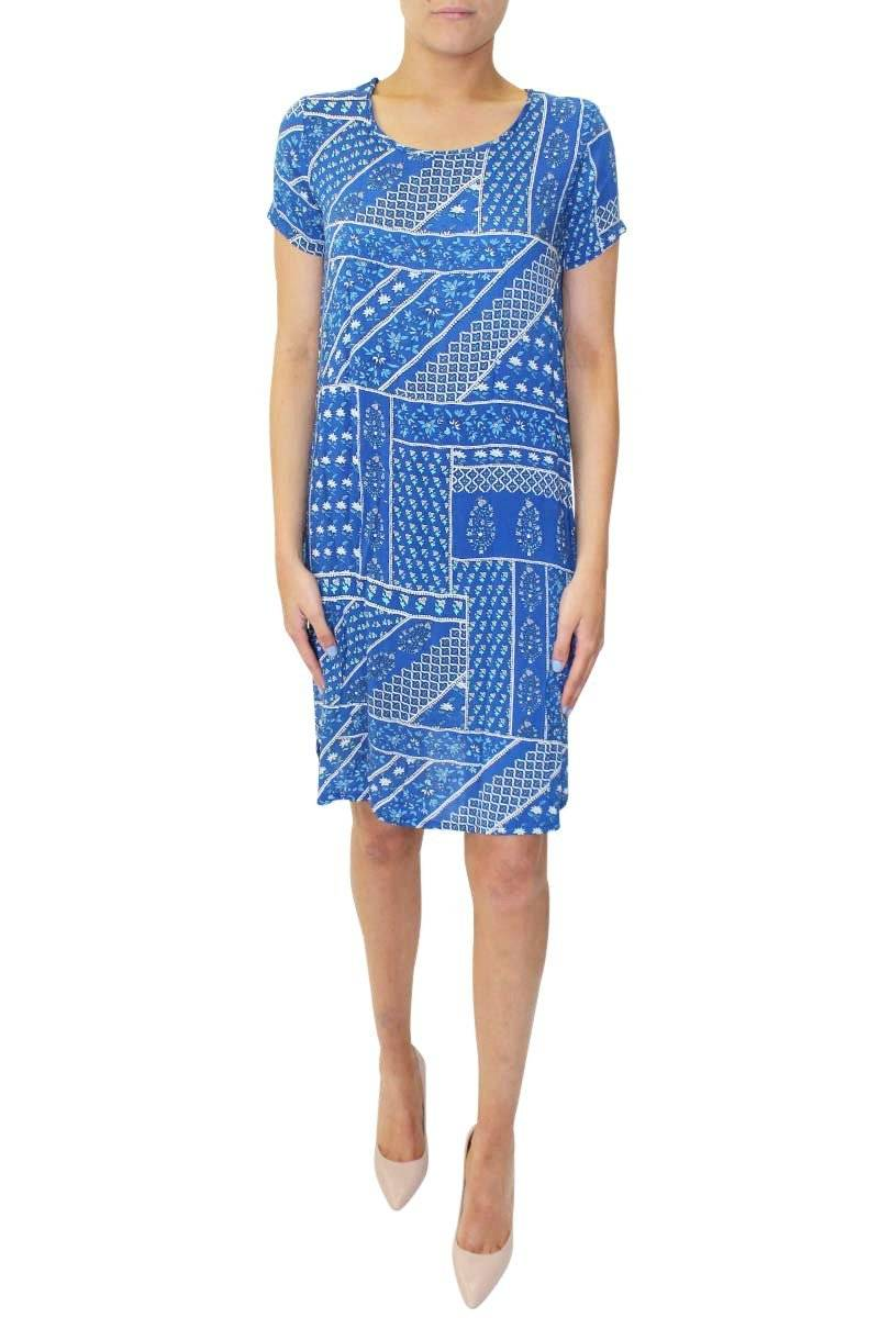 Paisley Patchwork Dress | Lauren T