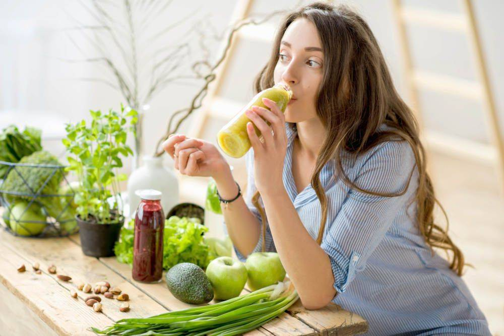 Natural collagen producing foods