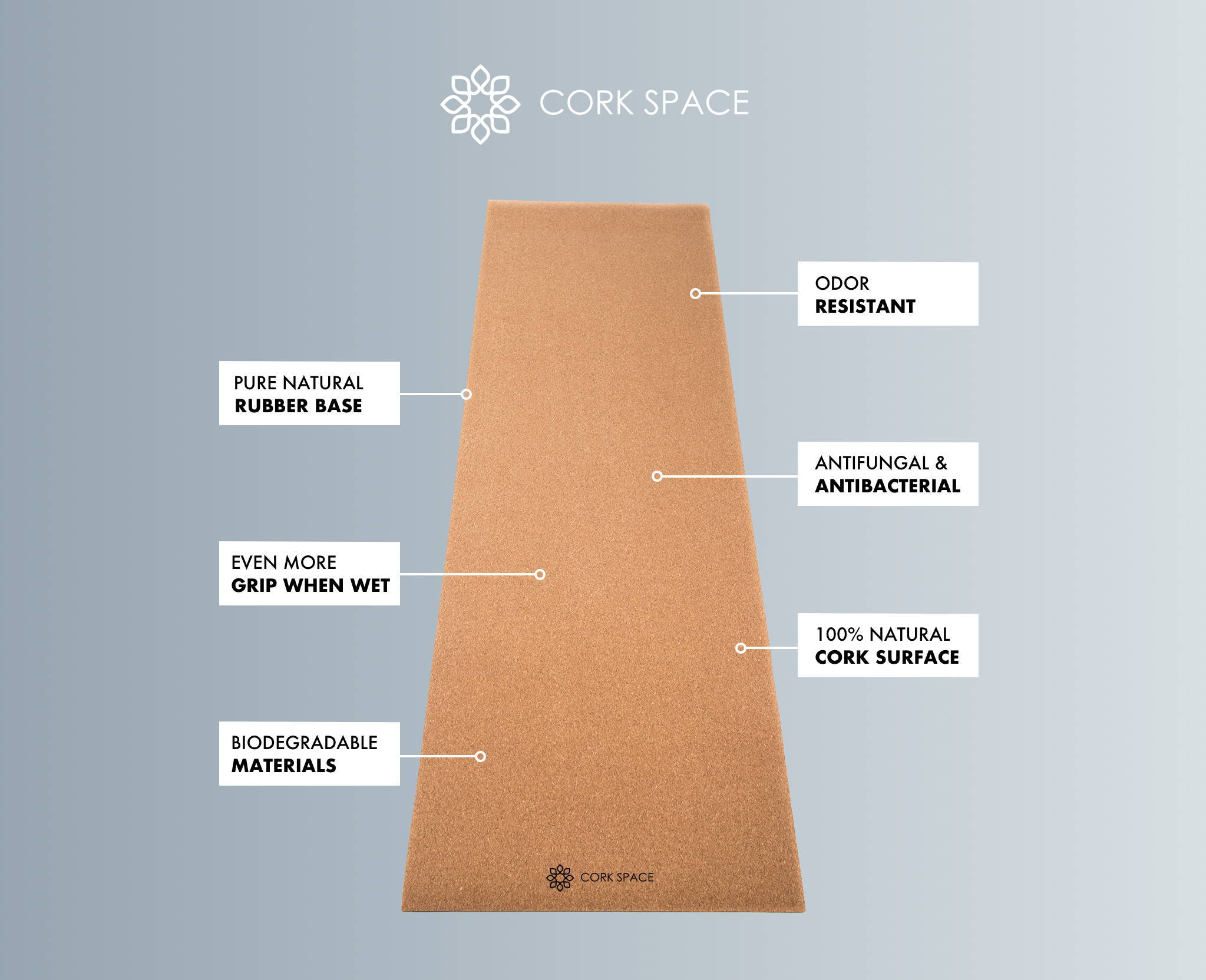 cork space features