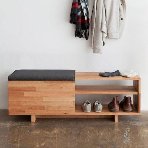 MASH Studios LAX Storage Bench