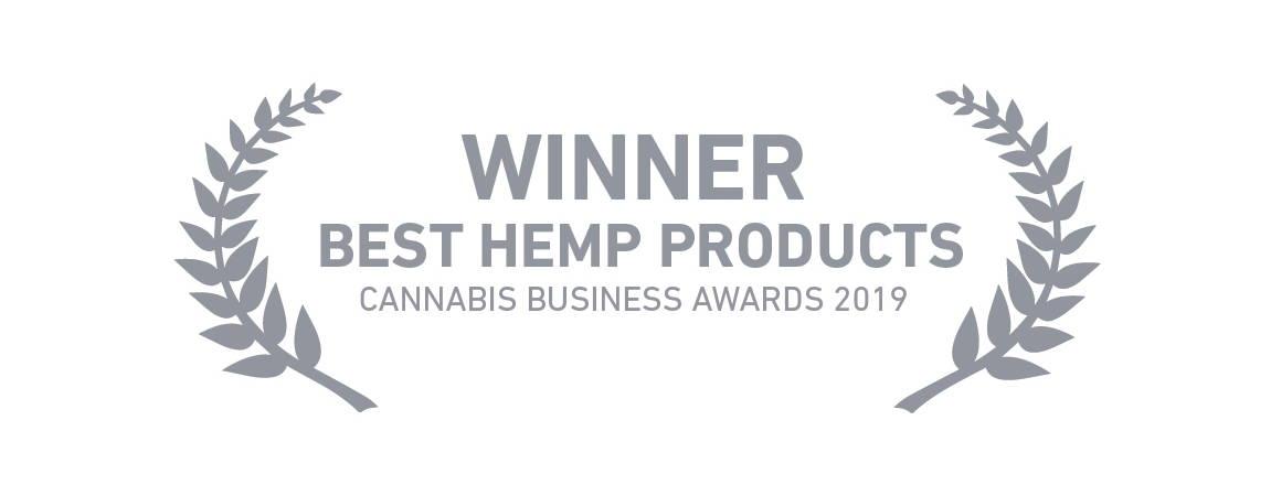 Best hemp products 2019 award