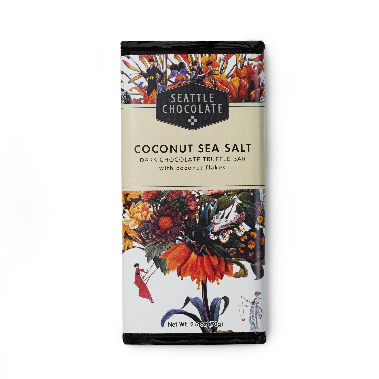 Coconut Sea Salt Truffle Bar