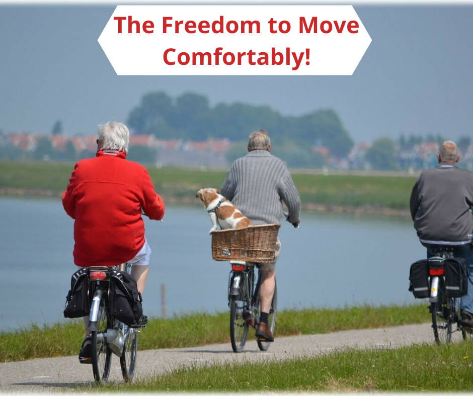 The Freedom to Move Comfortably