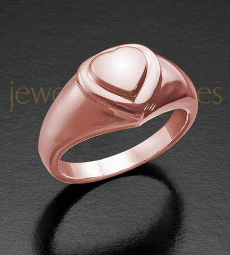 14K Rose Gold Forever Love Ring