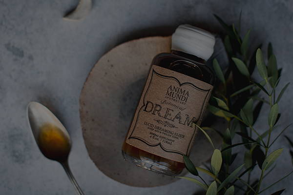 Anima Mundi Herbals Dream Elixir on white background