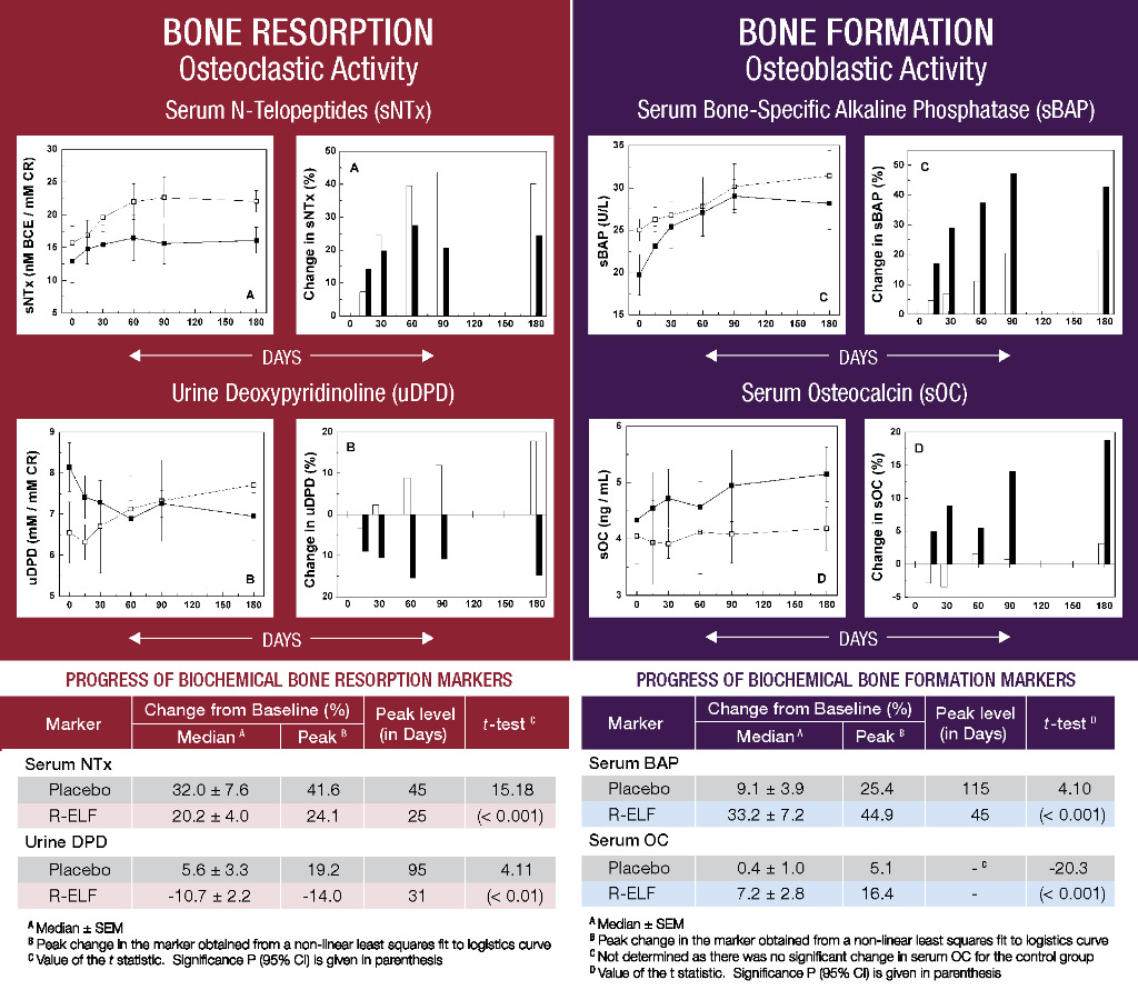 bone resorption decreased and bone formation increased by ribonuclease-enriched lactoferrin