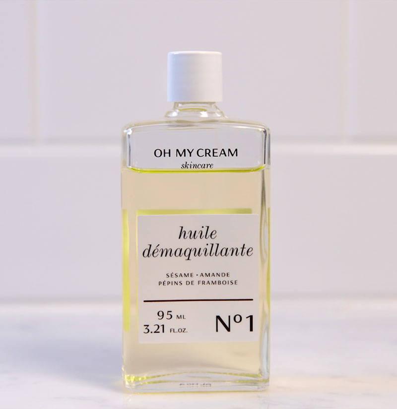 Routine Kleo Beauté : Huile Démaquillante Oh My Cream Skincare