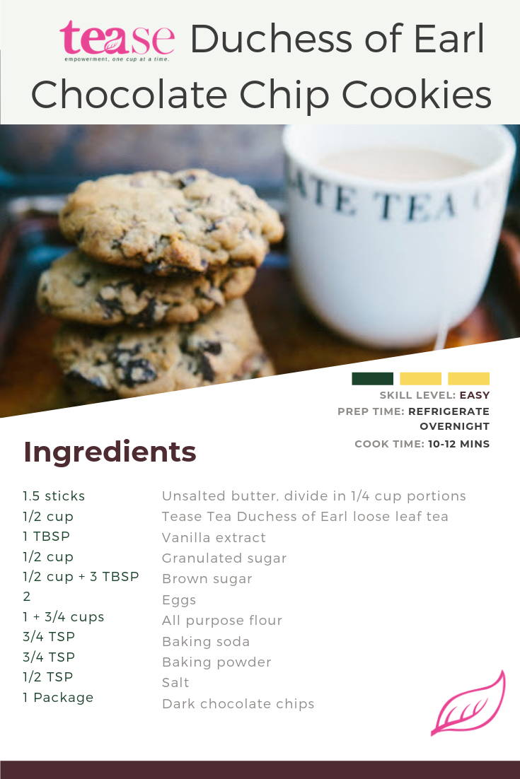 Tease Tea Loose Leaf Tea Cookies