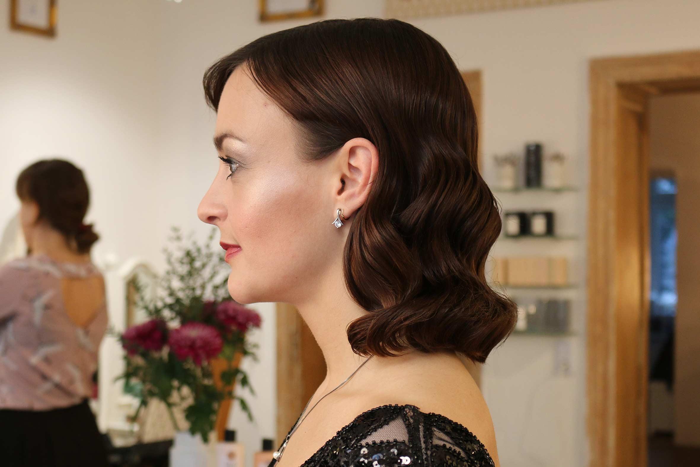 elegante glamour Waves von püppikram friseur belrin freidrichshain