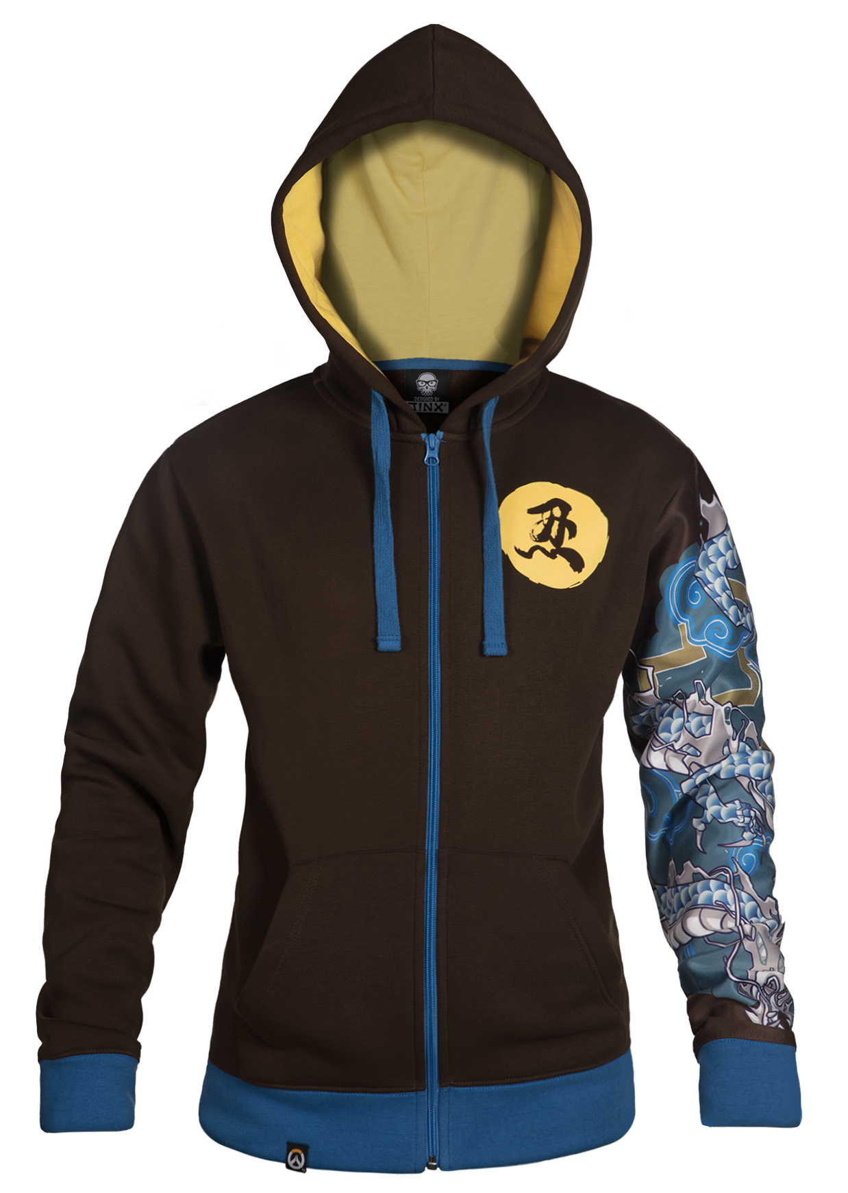 Product image of the Overwatch Ultimate Hanzo Zip-Up Hoodie