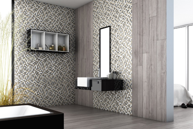 Vidrepur Aura Series Glass Tile for Bathrooms