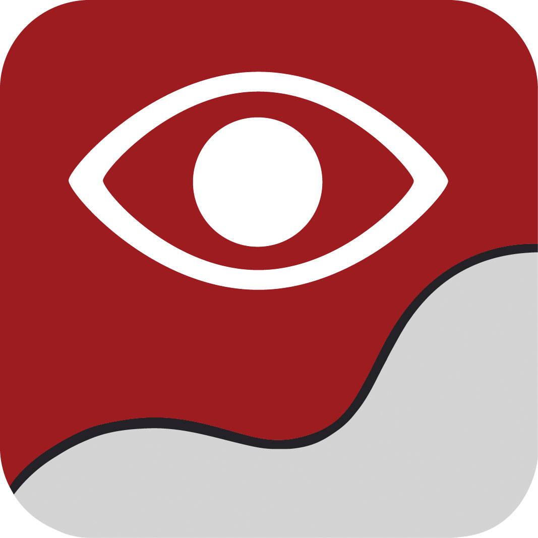 Symbol für Gaze interaction