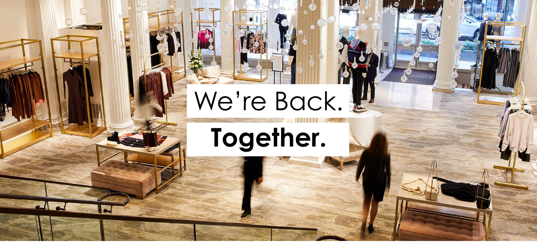 We're Back. Together.