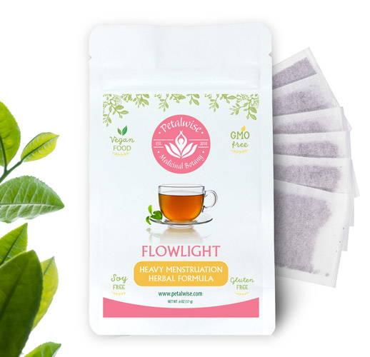 Flowlight Heavy Menstruation Formula Herbal Tea
