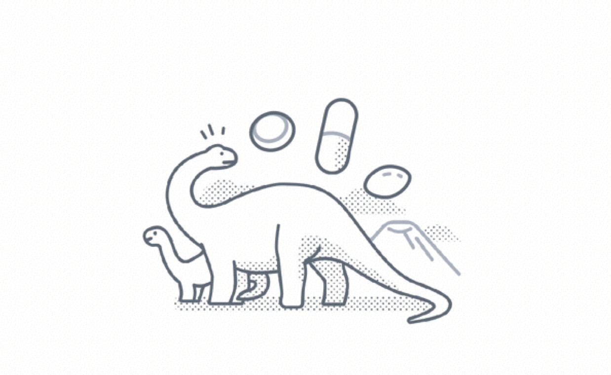 Dinosaur & Vitamins