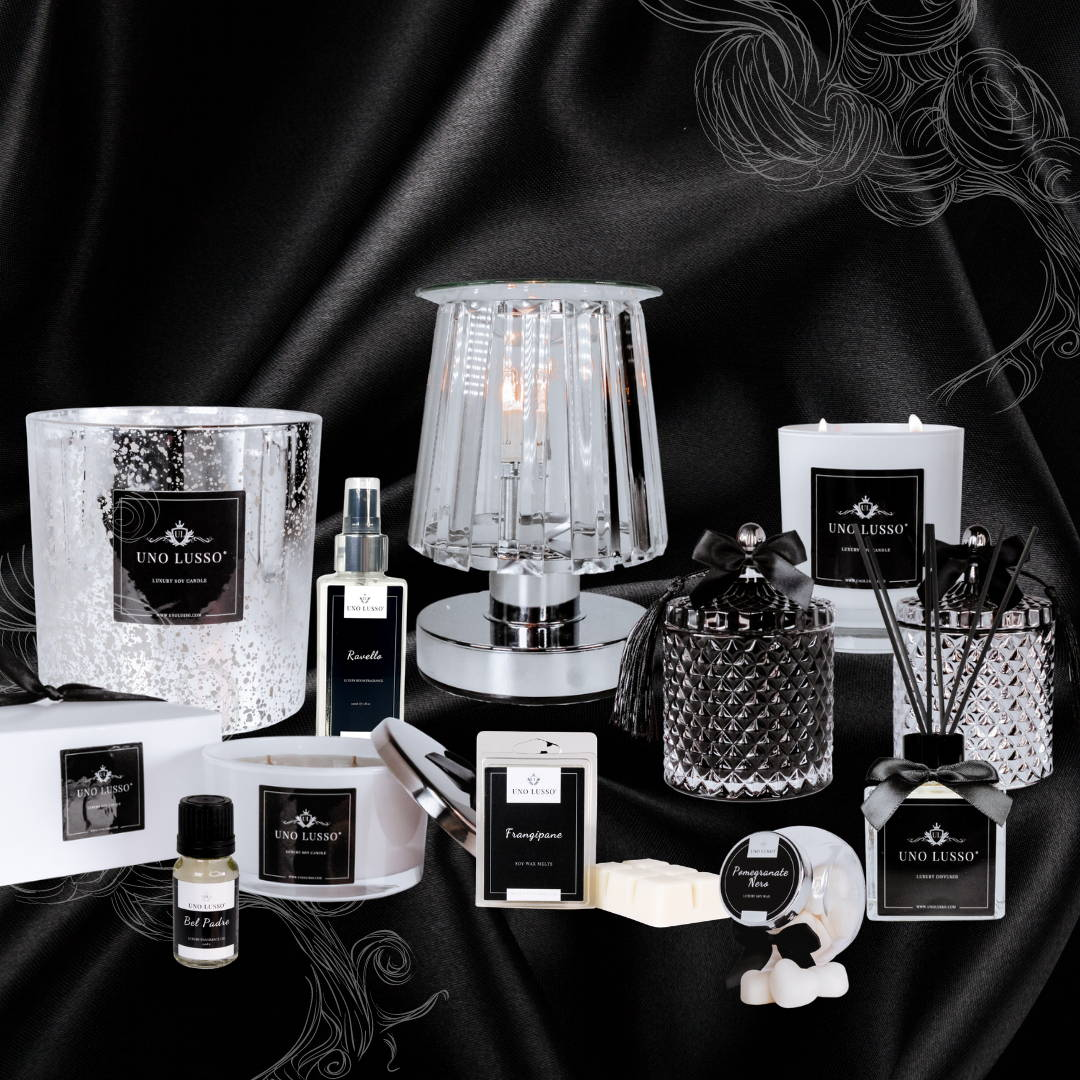 Luxury Home Fragrance Collection by Uno Lusso
