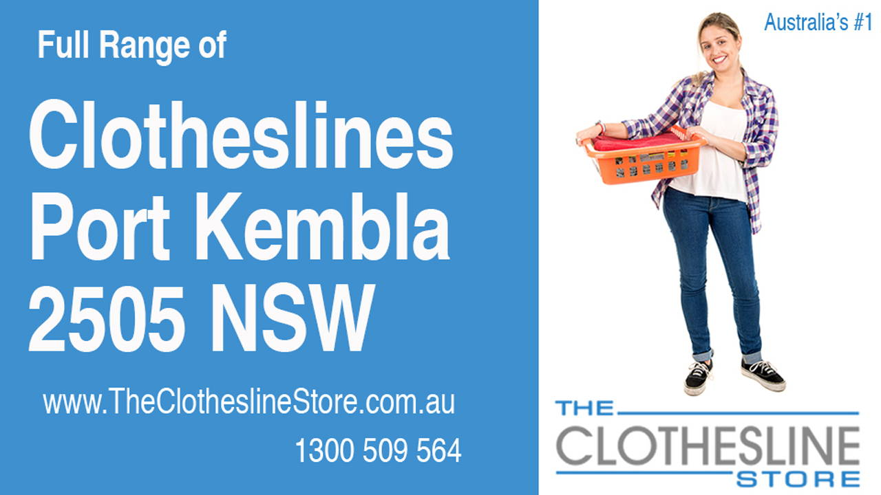 New Clotheslines in Port Kembla 2505 NSW