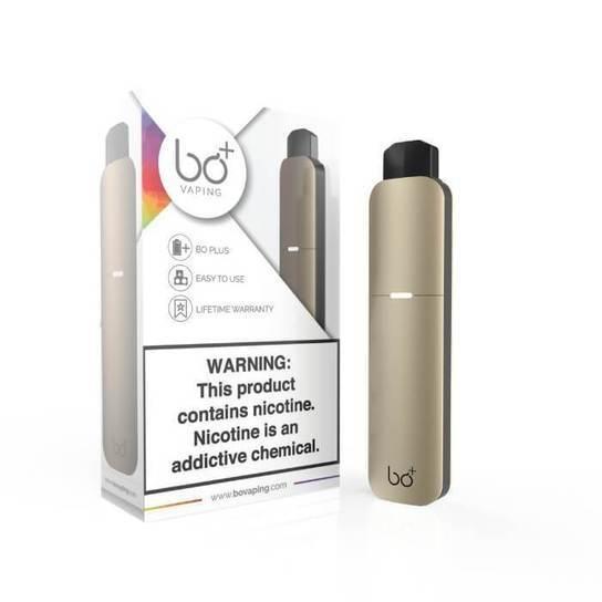 Champagne Gold Bo Plus / Bo+ Starter Vaping Kit - Bo Vape