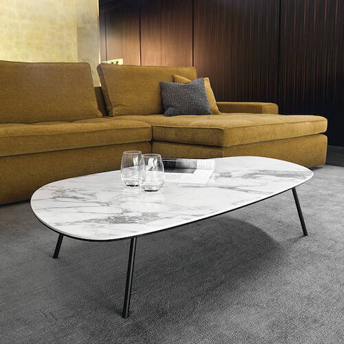 Calligaris Tweet Marble Coffee Table