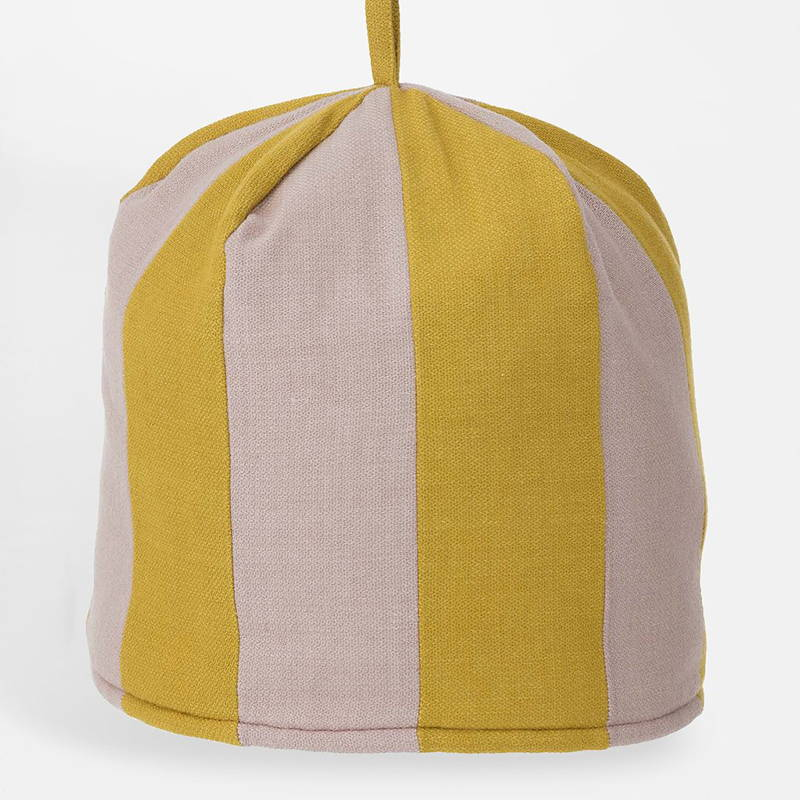 Product photography of Saara Ochre Tea Cosy from Bungalow for The Hambledon