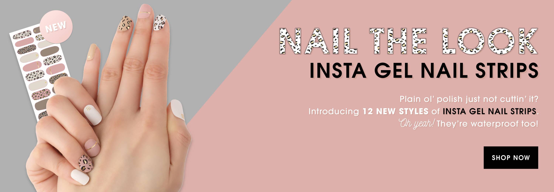 Nanacoco Professional Cruelty Free Insta Gel Nail Strips