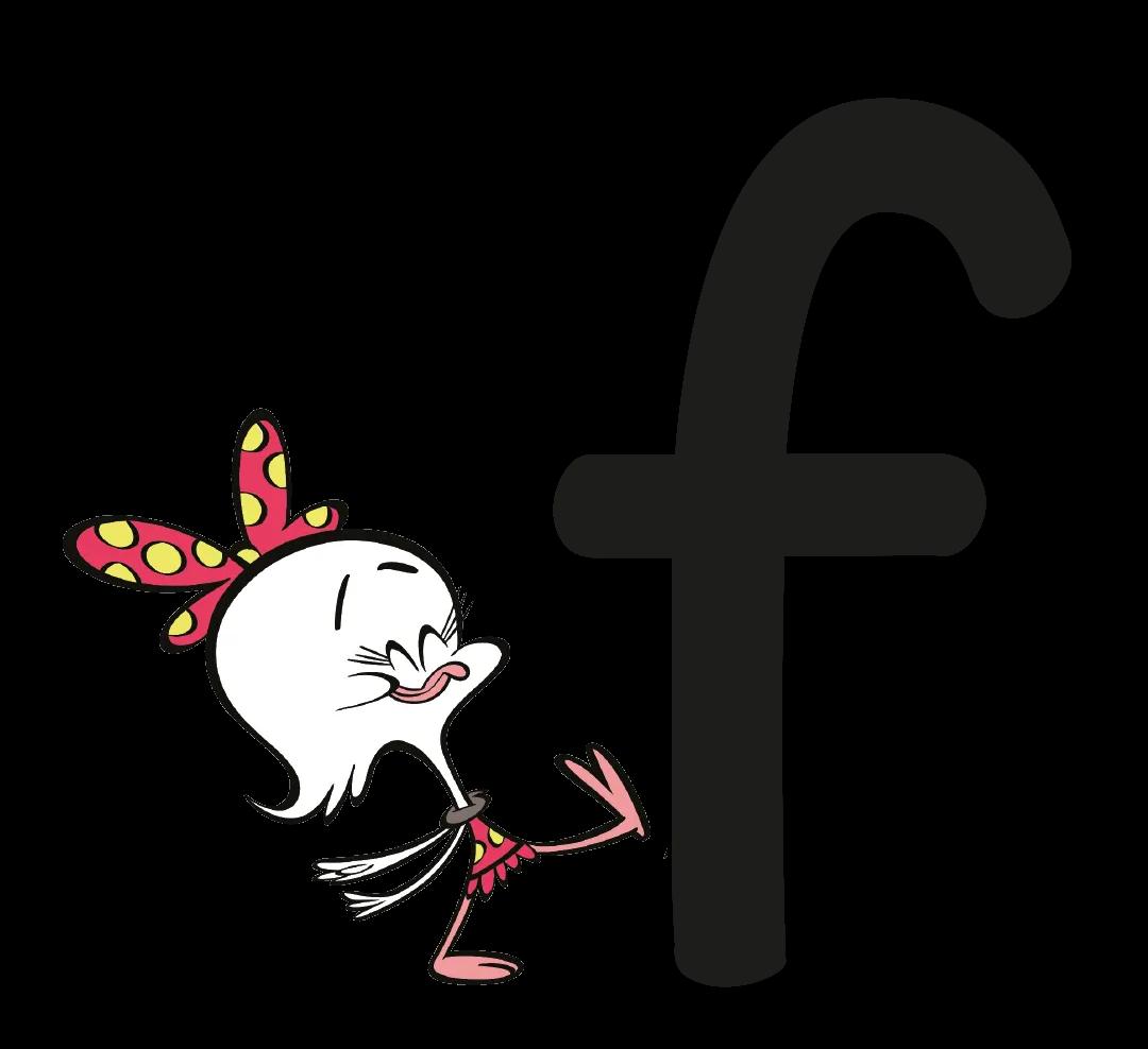 The grapheme f