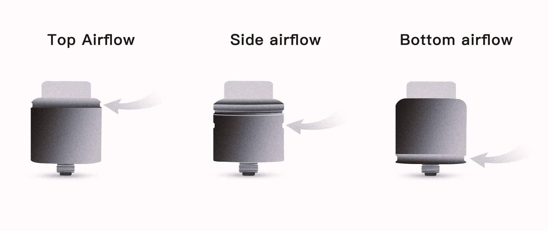 vaping airflow system