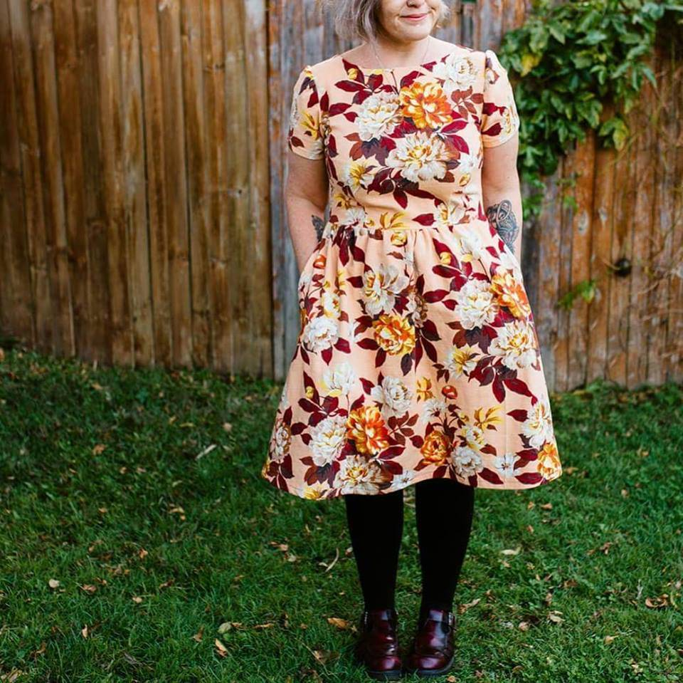 Katie Makes a Dress - Love Australian Handmade