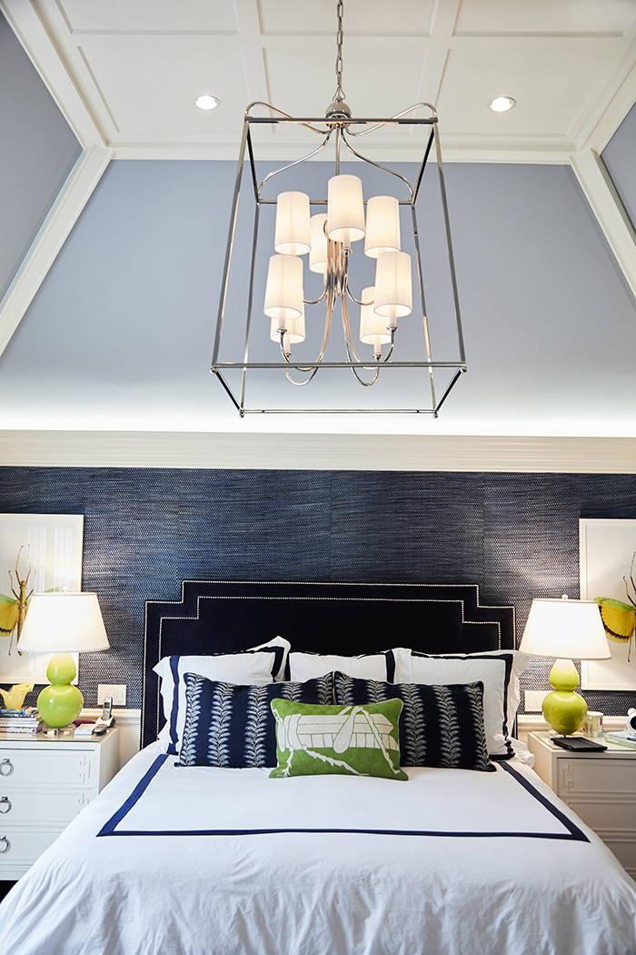 Crsytorama Bedroom Chandelier Lifestyle #2248-PN