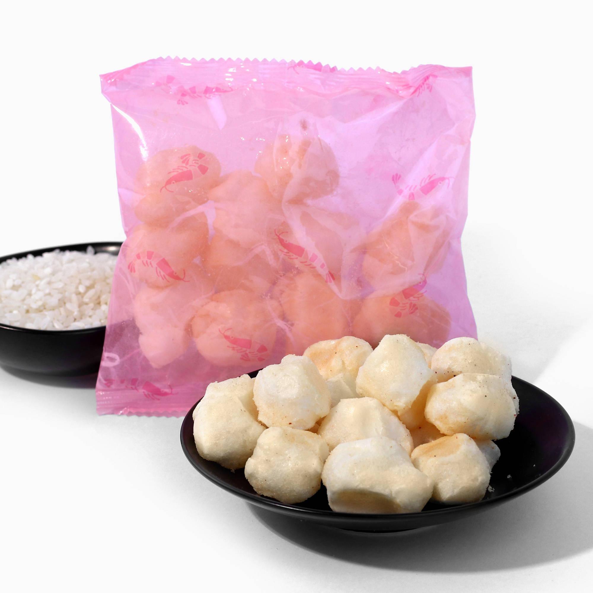 Funwari Meijin Mochi Puffs: Sakura Shrimp
