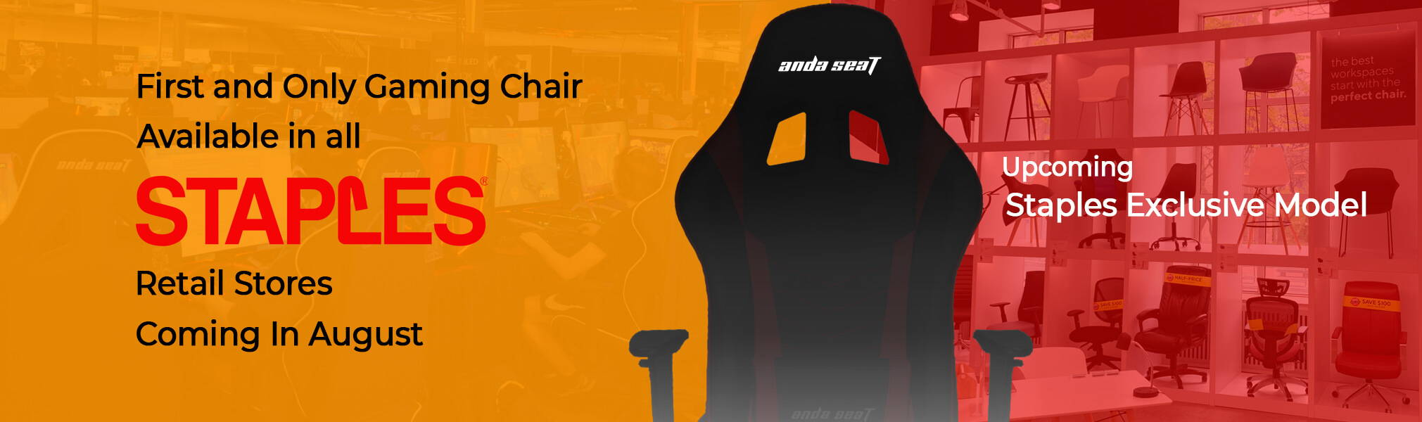 Gaming Chair at Staples