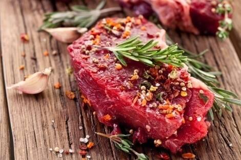 Créatine dans le viande